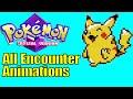 All 251 Pokemon Battle Encounter Animations in Pokemon Crystal