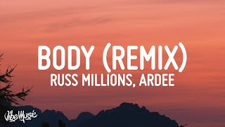Tion Wayne x Russ Millions - Body Remix (Lyrics) | have you seen the state of her body mad