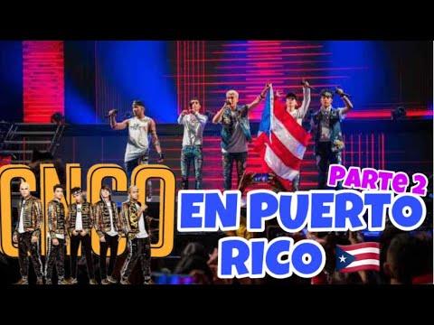 CNCO WORLD TOUR EN PUERTO RICO PARTE 2 (14 de Febrero del 2019) // BABYKCHIC 💫