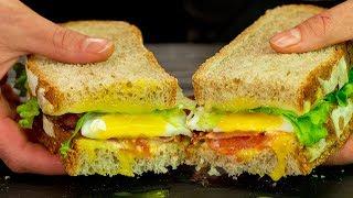 Перекус которому рады все! Большой и сытный сэндвич с домашним хлебом - заменит обед! | Appetitno.TV