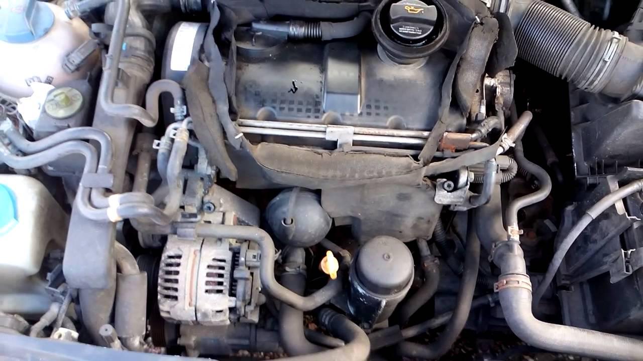 Контрактный двигатель Volkswagen (Фольксваген) 1.9 ASZ | Где купить? | Тест мотора