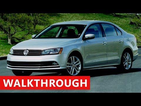 2017 Volkswagen Jetta Interior Exterior Test Drive