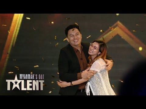 Magician Damien Gets Golden Buzzer | Myanmar's Got Talent 2019