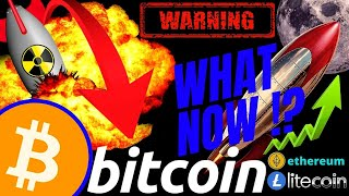 WARNING!!!!! WHATS NEXT FOR BITCOIN LITECOIN and ETHEREUM!?!BTC LTC ETH PRICE, CRYPTO NEWS, TRADING