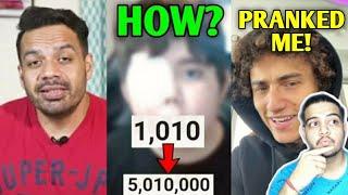 Kid YouTuber Gets 0 To 5 MILLION SUBS IN 2 DAYS! (Tomiii 11) | Kwebbelkop PRANKED ME!, Flying Beast