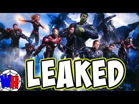 Avengers 4 LEAKED Concept Art Explained!