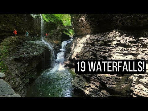 Exploring the Finger Lakes: Watkins Glen State Park