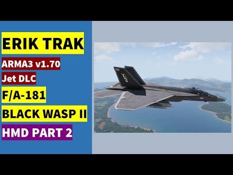 F/A-181 Black Wasp II HMD explanation part 2 (ILS)