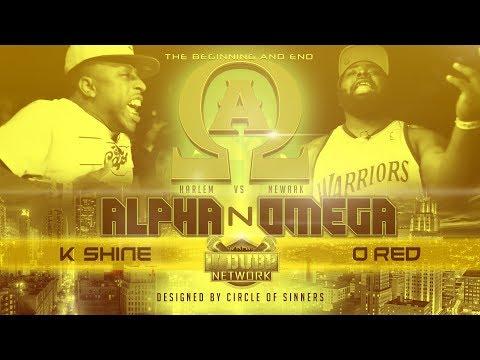 O RED VS K SHINE | UDubb's Alpha N Omega Rap Battle