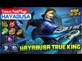 Hayabusa True King  Top 1 Global Hayabusa S10  Louvre Antimage Hayabusa Mobile Legends
