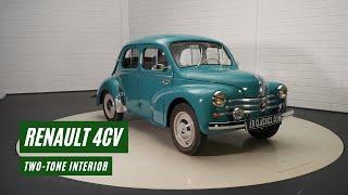 Renault 4CV 1960 -VIDEO- www.ERclassics.com
