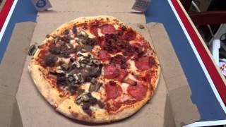 Review Of Domino's Sweet Bbq Bacon Specialty Chicken And Medium Pizza