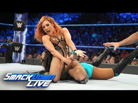 SmackDown Live vs. Bekcy Lynch vs. Peyton Royce