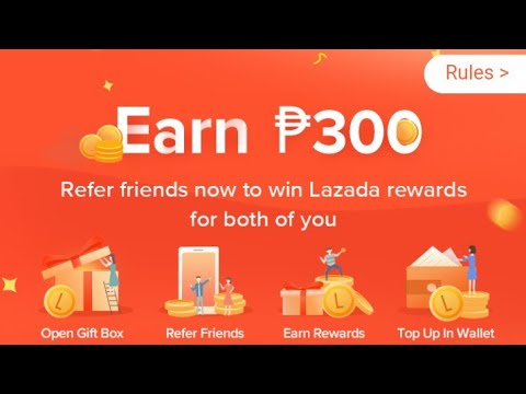 FREE 300PHP LOAD FROM LAZADA ( 100% LEGIT )