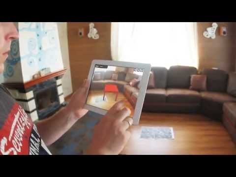 Fingo - application for matching furniture in the interior using augmented reality