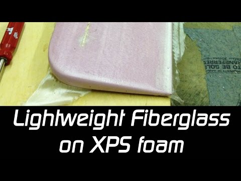 Fiberglass on XPS Foam - Polycrylic or Epoxy? (for RC planes)