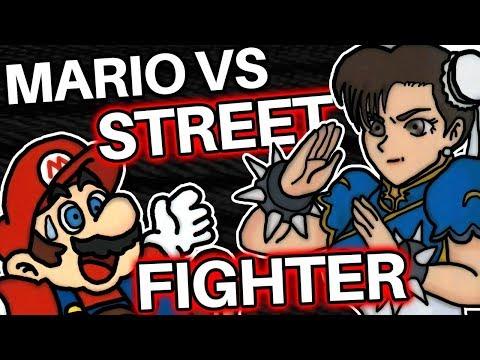 Super Mario vs Street Fighter II - Mario DEFEATED Everyone!?
