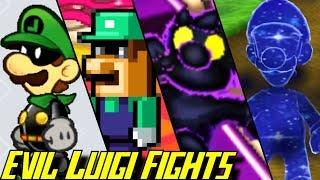 Evolution of Evil Luigi Battles (2001-2017)