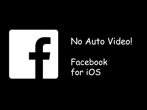Stop AutoPlay On Facebook iPhone