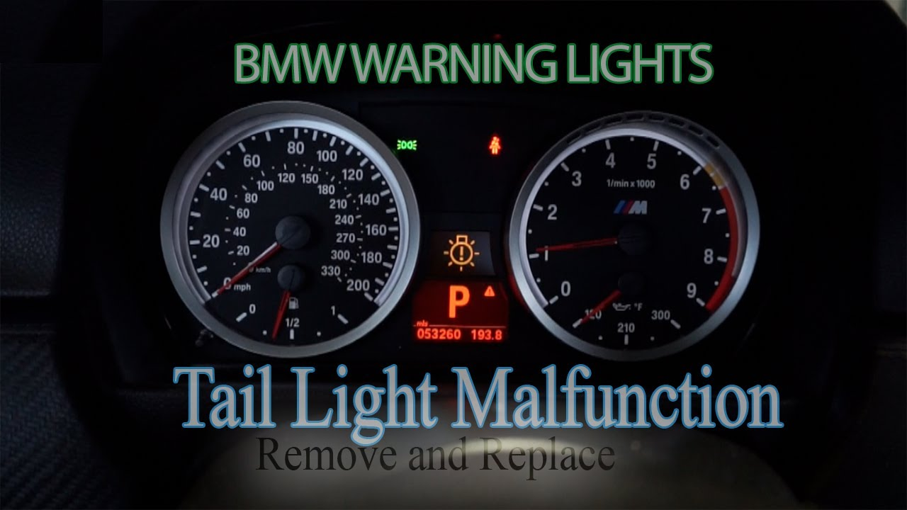 2017 BMW 6 Series >> BMW 3-series Tail Light Malfunction - Remove and Replace ...