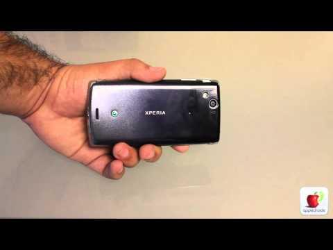 Sony Ericsson Xperia Arc : Unboxing y primera vista de un equipo con android 2.3