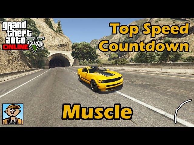 gta 5 - die schnellsten muscle cars aus gta online im ranking - gamepro