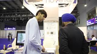 Meet the young inventor Mohamed Fayez at the International Education Show