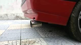 Alfa Romeo 33 16v QV - Checking Exhaust Sound