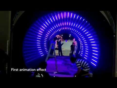 14*25mm Digital RGB LED Neon Flex 24v DMX Addressable DMX LED Neon Flex