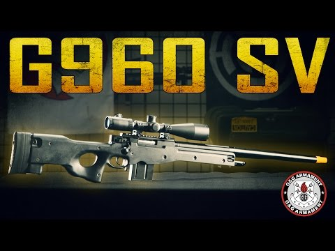 G&G G960 SV Sniper Rifle - Airsoft GI