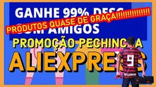 Pechincha Aliexpress Unboxing PRODUTOS 1 REAL!!!!