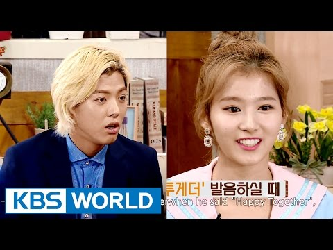 Sana, &quotKangnam&#39s Happy Together accent is a Korean accent&quot [Happy Together/2016.07.21]