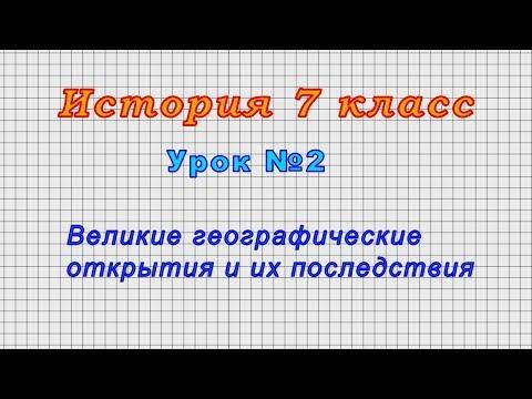 История 7 класс ведюшкин краткий пересказ видеоурок