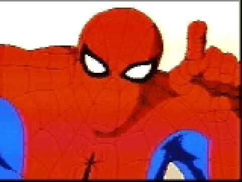 SpiderMan teaches you how to navigate a CDRom