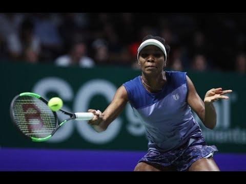 2017 WTA Finals Semifinals | Venus Williams vs Caroline Garcia | WTA Highlights