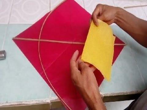 Como hacer un papalote paso a paso youtube - Como hacer un estor enrollable paso a paso ...