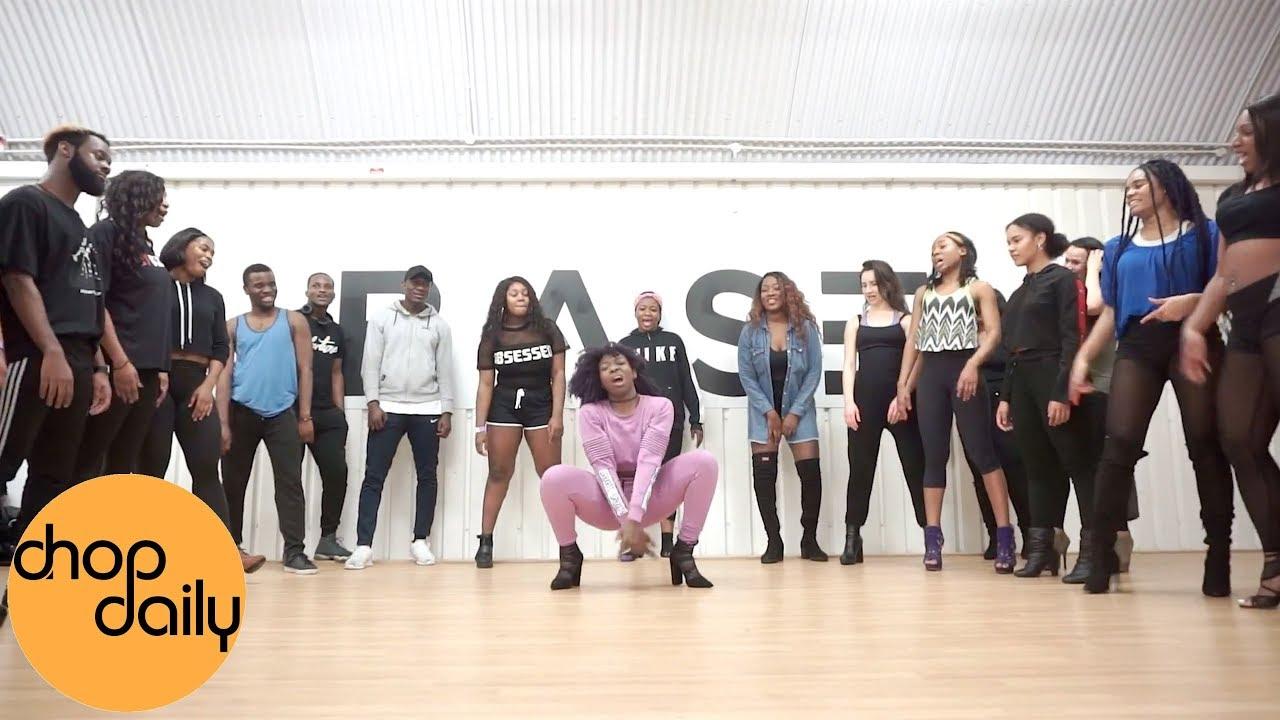 Ebony - Date Ur Fada (Afro In Heels Dance Video)