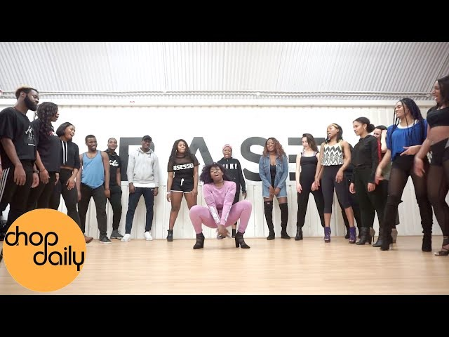 Ebony - Date Ur Fada (Afro In Heels Dance Video)