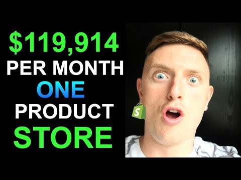 This Branded Shopify Store Makes $119,914 Per Month Using FaceBook Ads thumbnail