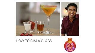 #PartyTohBantiHai How To Rim A Glass.