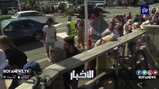 الآلاف يشيعون جثامين الأردنيين ضحايا مذبحة المسجدين - (22-3-2019)