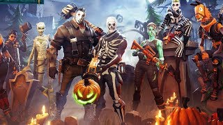 NEW FORTNITE HALLOWEEN UPDATE! NEW HALLOWEEN SKINS IN FORTNITE! (FORTNITE BATTLE ROYALE)