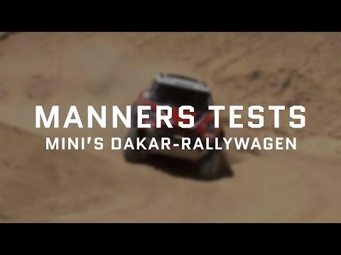 Manners test MINI's Dakar-rallywagen in de Marokkaanse woestijn