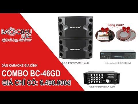 Dàn karaoke gia đình giá rẻ, hát hay. Giá chỉ 6.490.000đ. Giao hàng toàn quốc