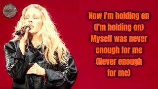 Calvin Harris And Ellie Goulding - Outside (Lyrics Video)