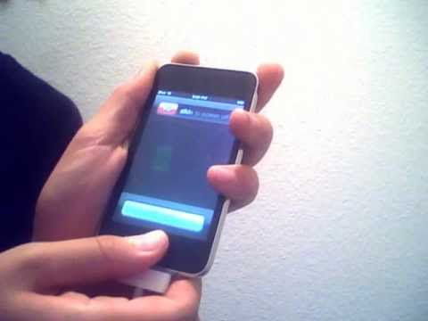 how to fix error 20 on itouch