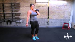 Unapologetically Powerful Demo: Kettlebell Offset Reverse Lunge