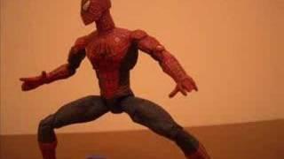 Spider-Man vs Green Goblin (stop motion)
