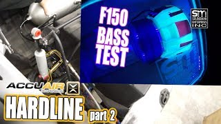 Mule hardline part 2 AND F150 BASS TEST!