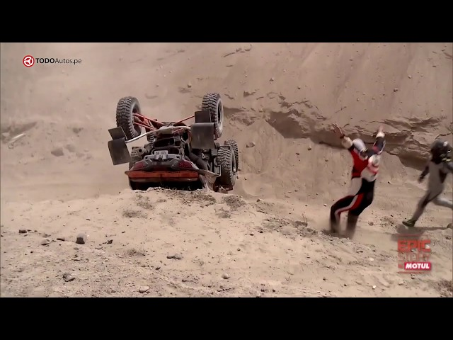 LOS ACCIDENTES MÁS ESPECTACULARES DEL DAKAR 2019